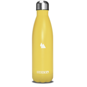 bouteille-isotherme-duck-n-500ml-jaune-clair-finition-jaune-mate